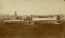 Alma Salt Works - c.1874