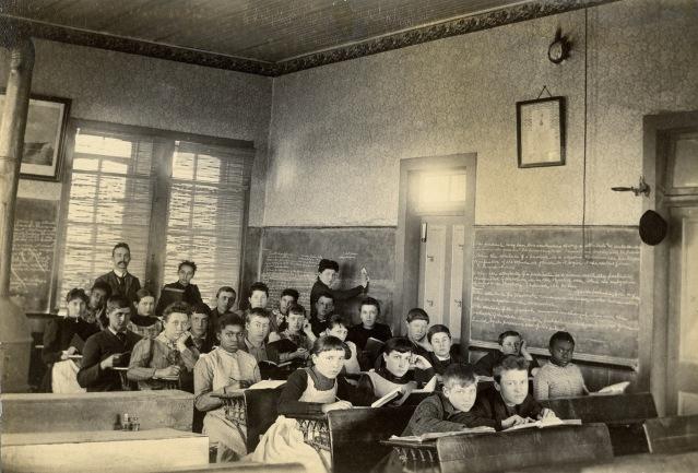 Alma School Classroom c. 1900