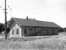Atchison, Topeka & Santa Fe Depot, Alma Kansas