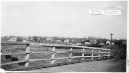 This real photo postcard, circa 1910, shows Alta Vista as seen from the viaduct.