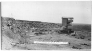 This real photo postcard of the rock crusher at Alta Vista dates from about 1910.