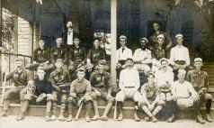 Baseball Teams, McFarland and Maple Hill, Kansas