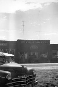 Dunn Home Supply Co., Eskridge, Kansas - c.1950