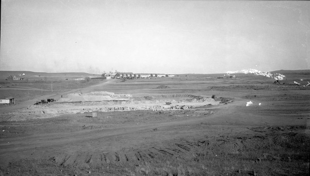 Lake Wabaunsee Spillway Construction WPA Camp