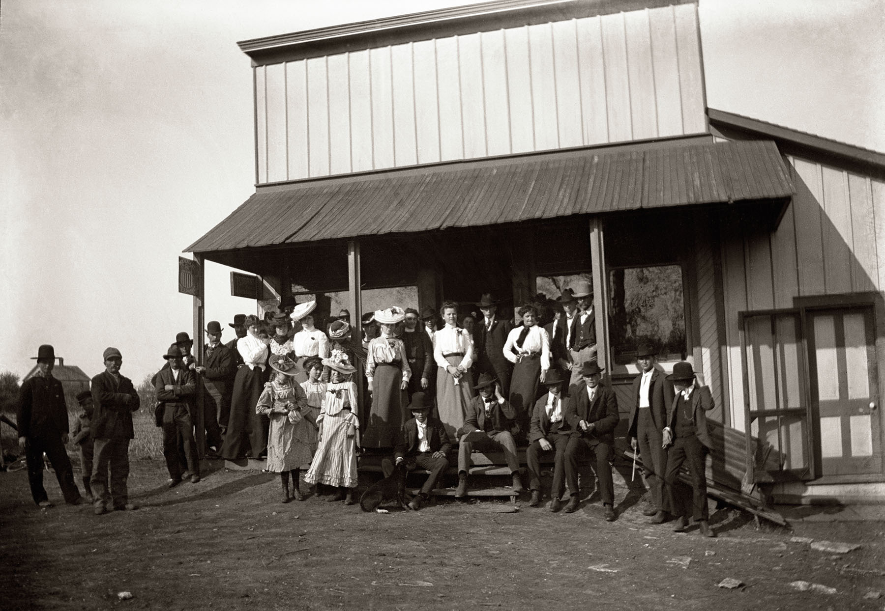 Original Volland General Store c. 1890