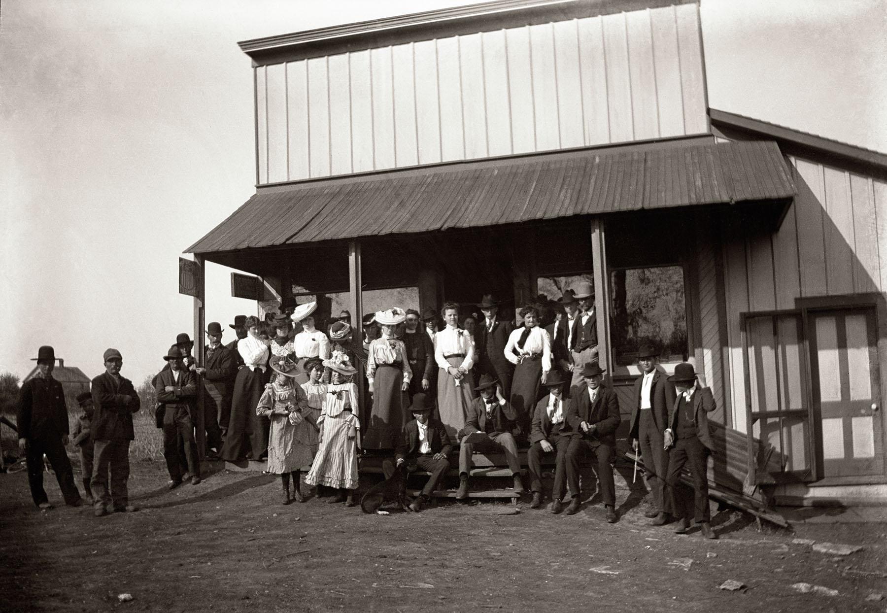 Original Volland General Store c. 1890
