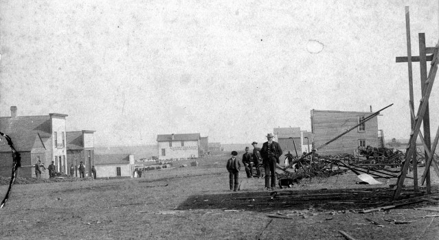 Alta Vista Under Construction, 1887