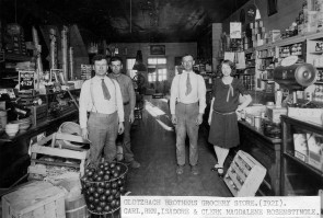 Interior View of the Glotzbach Store, Paxico, Kansas