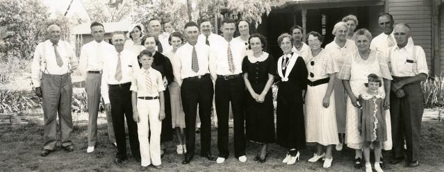 Hallgren Wedding - 1935