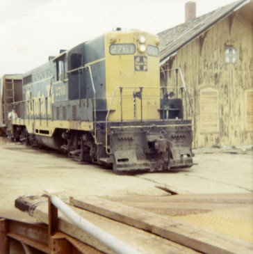 Atchison, Topeka & Santa Fe Train Leaves Station for Last Time