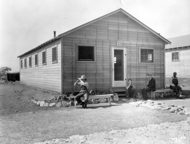 Kansas Emergency Relief Committee Transient Camp Barracks Building