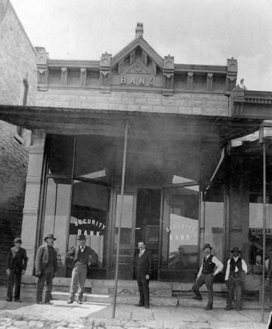 Security Bank, 121 Main Street, Eskridge, Kansas
