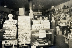 Interior View of the Maple Hill Grocery Store
