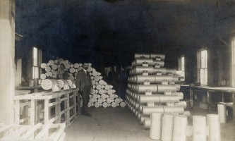 Interior View of the Mail Box Factory at Maple Hill