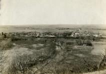 Bird's-eye View of McFarland, Kansas - 1918