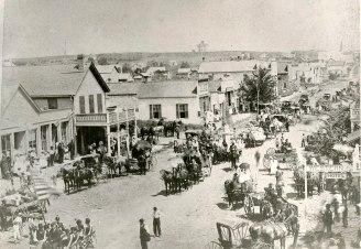 Alma, Kansas Parade - c.1886