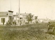 Missouri Street, Alma, Kansas - 1884
