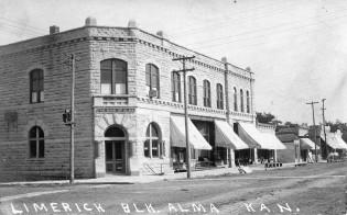 Limerick Block, Alma, Kansas