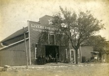 Star Livery and Feed Store, Alta Vista, Kansas
