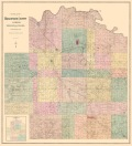 1884 Wabaunsee County Plat Map