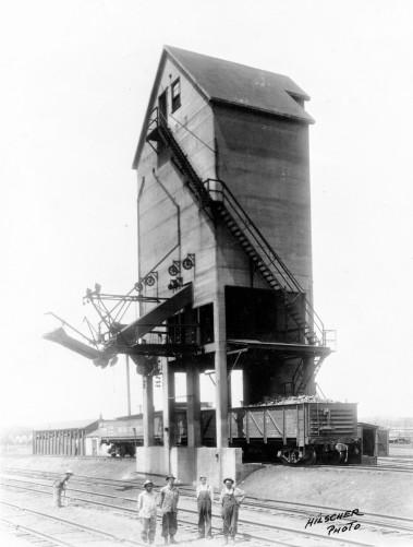 Chicago, Rock Island & Pacific Railway Coal Chute, McFarland, Kansas