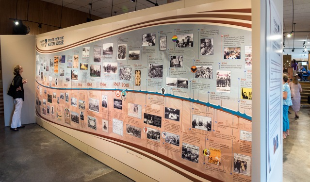 Freedom's Frontier Exhibit at the Wabaunsee County Historical Museum