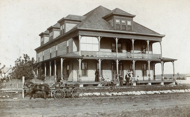 Windler Hotel, Maple Hill, Kansas
