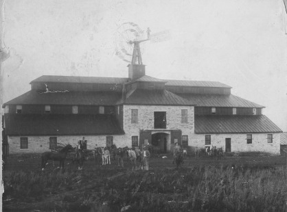 Construction on the Wiser barn was completed in 1884 and a grand opening dinner and barn dance was held on October 30, 1884 to celebrate its completion. Photo courtesy Ellen Coffman.