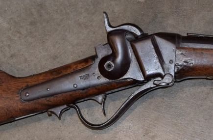 Sharps Patent 1852