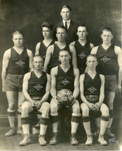 Eskridge Rural High School basketball team, 1922