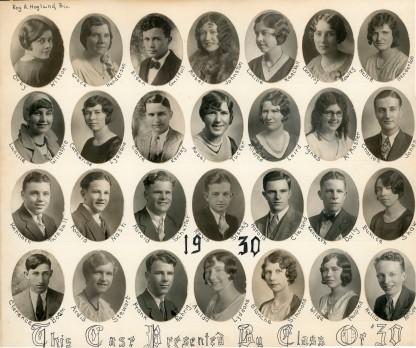 Class of 1930