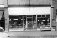 Preston Dunn's Rexall Drug Store was located at 111 South Main Street in Eskridge, Kansas, as seen in this 1950s photo.