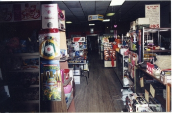 This interior view of Dunn Home Supply was taken in the early 2000's.