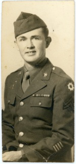 Corporal Carl F. Hoots, 1945