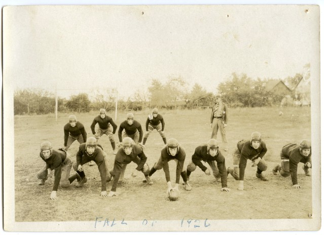 Eskridge Rural High School Football team, 1926