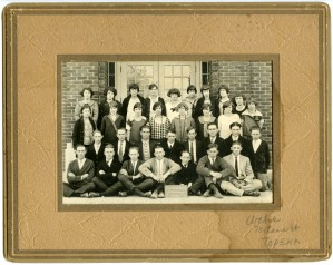 Eskridge Rural High School Sophomore Class, circa 1927