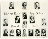 Eskridge Rural High School, Class of 1948