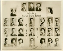 Eskridge Rural High School, Class of 1950