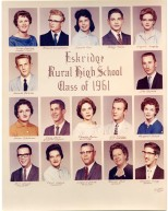Eskridge Rural High School, Class of 1961
