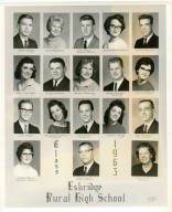 Eskridge Rural High School, Class of 1963