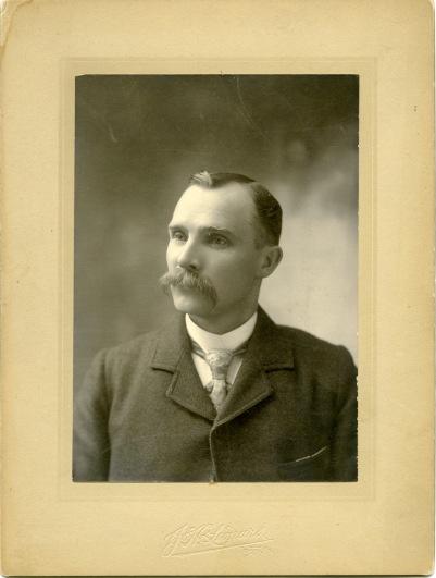 Louis Palenske, circa 1895.