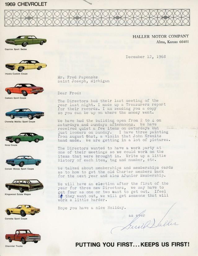 Haller Motor letter to Fred Palenske172 copy